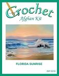 Florida Sunrise Crochet Afghan Kit
